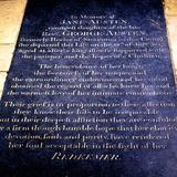 Tomb Inscription of Jane Austen