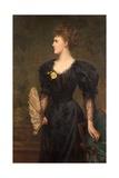 Portrait of Mrs Gillingham Smith  1895