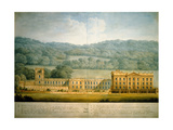 The West Front of Chatsworth House