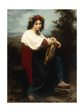Italian Woman with a Tambourine  1872