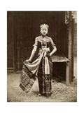 Dancer at the Javanese Village  Exposition Universelle  Paris  1889