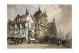 The Market Place  Malines  C1884