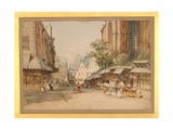 The Market Square  Frankfurt  C1860