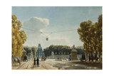 A View of the Tuileries from the Champs-Elysees