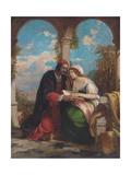 Abelard and Heloise on a Terrace