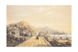Frontispiece from 'Views on the Railway Between Turin and Genoa'  1853