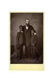 Two Boys from the Congo Training Institute for African Students  Llnagollen  Wales  1886