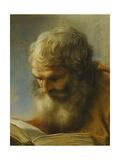 A Bearded Apostle Reading  1712