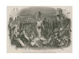 Solomon Eagle Preaching Repentance During the Plague