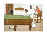 A Billiards Match