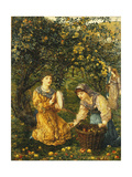 Gathering Apples  1881