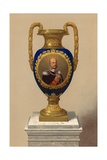 Porcelain Vase  Presented by their Majesties the King and Queen of Prussia