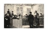Illustration from 'La Rue a Londres'  Pub by G Charpentier Et Cie  1884
