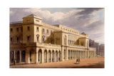 The Opera House  Formerly the Lyceum  London  1826
