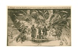 Fireworks for the Coronation of William and Mary