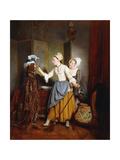 Dressing of a Mannequin; La Toilette De Mannequin  1835