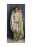 A Nude with a Green Cloak  1899