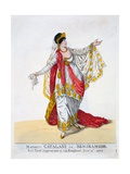 Madame Catalani in the Title Role of Semiramide  1806