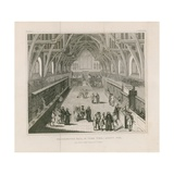 Westminster Hall in Term Time  About 1770