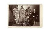 The African Native Choir Quintette  London  C1892