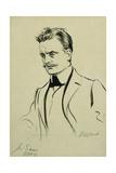 Portrait of the Composer Jean Sibelius  Small Half-Length