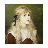 Portrait of Esme Robb  C1890
