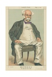 The Duke of Saldanha  He Might Have Been a King  2 September 1871  Vanity Fair Cartoon