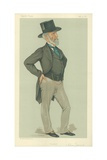 Mr Charles Tennant  Glasgow  9 June 1883  Vanity Fair Cartoon