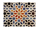 Ceramic Tiles from the Alcazar of Seville