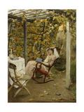 In the Pergola  1894