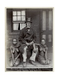 William Amazizi  Lo-Ben's War Doctor with Nganga and Schlepu  1890s