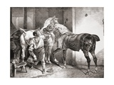The Farrier  from Etudes De Cheveaux  1822