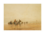Crossing Lancaster Sands  1836