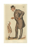 The Earl of Westmoreland  the Affable Earl  10 November 1883  Vanity Fair Cartoon