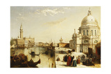 The Grand Canal with Santa Maria Della Salute  Venice