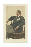 Colonel James Farquharson of Invercauld  the Queen's Landlord  26 August 1876  Vanity Fair Cartoon