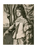 King Charles II as a Boy