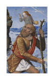 Saint Christopher  C 1490-1500