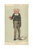 Mr Anthony Trollope  a Novelist  5 April 1873  Vanity Fair Cartoon