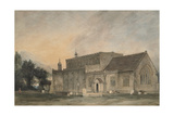 East Bergholt Church: South-East View  1811