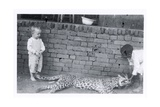 Frank and Leopard  C1950s