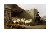 A Shepherd and His Flock  1862