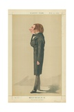 Mr John Ruskin  the Realization of the Ideal  17 February 1872  Vanity Fair Cartoon