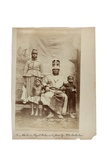 King Duke in Royal Robes with Family  Old Calabar  Nigeria  C1890
