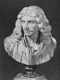 Bust of Jean-Baptiste Poquelin  known as Moliere  1781