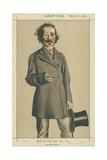 Mr Talbot Mayne Reid  Impossible Romance  8 March 1873  Vanity Fair Cartoon