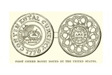 First Coined Money Issued by the United States
