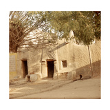 A House Made of Dried Mud in the Old Part of Kano  One Ofthe Major Hausa-Fulani City States of…