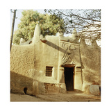 A House Made of Dried Mud in the Old Part of Kano  One of the Major Hausa-Fulani City States of…