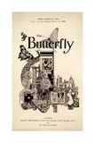 Cover of 'The Butterfly' Magazine  Published March 1 1899